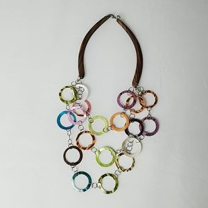 Funky fun colorful necklace